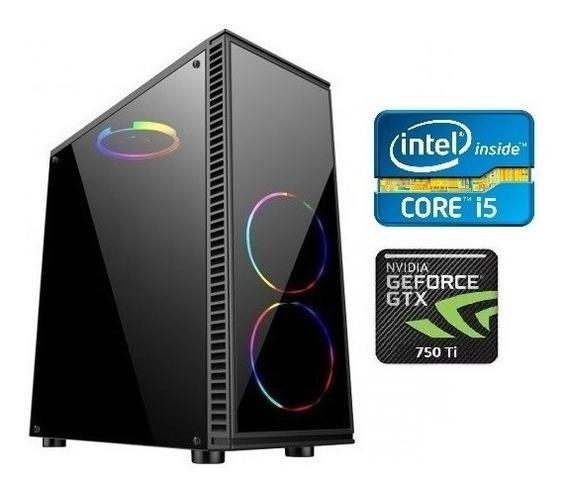 Cpu Pc Gamer Core I5 3.6ghz 8gb Ssd Gtx750ti