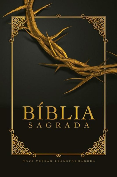 Biblia Nvt LG St - Coroa De Espinhos - Mundo Cristao
