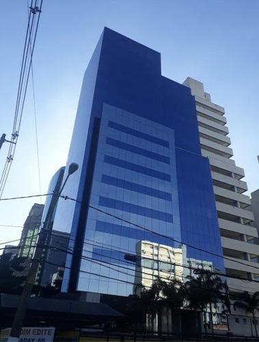 Imagem 1 de 15 de Andar Corporativo Para Alugar, 871 M² Por R$ 65.392,50/mês - Brooklin Novo - São Paulo/sp - Ac0011