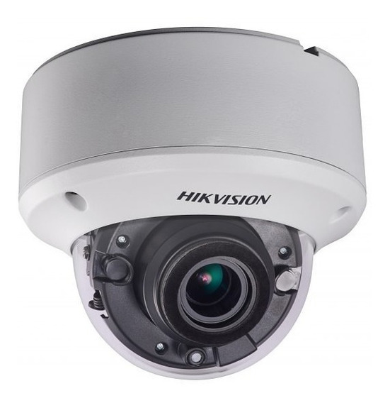 Cámara Hikvision Ds-2ce56h1t-itz Domo Motorizada Turbo Hd5mp