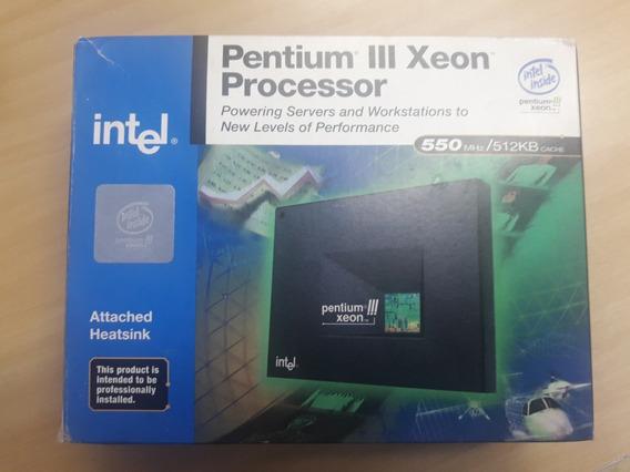 Processador Pentium Iii Xeon Processador 550mhz 512cache