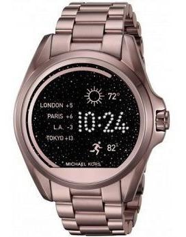 Relógio Michael Kors Accesssmartwatch Mkt5001 Bronze Lacrado
