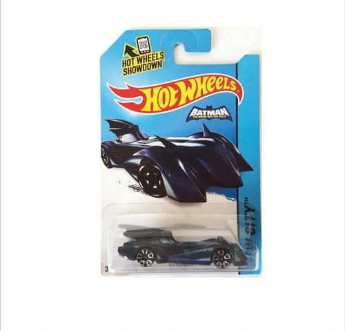 Hot Wheels Batmobile - Batimovil Batman 2015 Brave And Bold