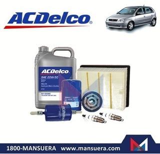 Kit Aceite Filtros Bujias Chevrolet Corsa Evolution 1.4/1.8