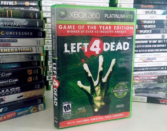 Left 4 Dead Para Xbox One E Xbox 360 Jogo Original Emcd