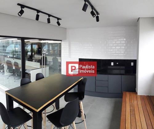 Andar Corporativo Para Alugar, 250 M² Por R$ 26.498,00/mês - Itaim Bibi - São Paulo/sp - Ac0043