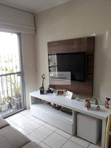 Imagem 1 de 17 de Apartamento À Venda, 52 M² Por R$ 265.000,00 - Vila Augusta - Guarulhos/sp - Ap1437