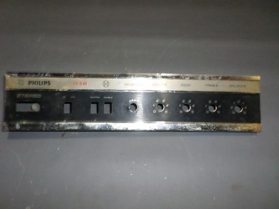 Frente Vitrola Antiga Rara Anos 60 Toca Discos Philips 346