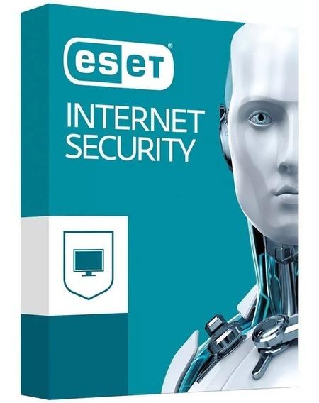 Licença Original Eset Internet Security 3pc Env Grátis 3anos