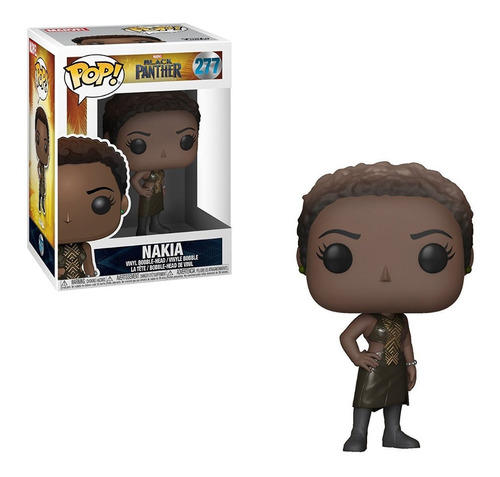 Funko Pop Marvel Black Panther Nakia 277 Nuevo Original