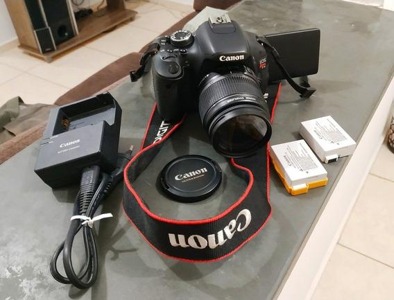 Vendo Ou Troco Câmera Canon Eos Rebel T3i Super Conservada!