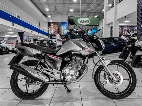 Honda Cg 160 Fan Ano 2016 Financiamos Em 36x Aceito Troca