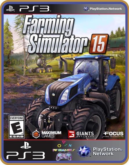 Farming Simulator 15 - Ps3 - Leia Descrição