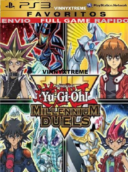 Ps3 Yu Gi Ho Millennium Duels Digital Infantil Carros Luta