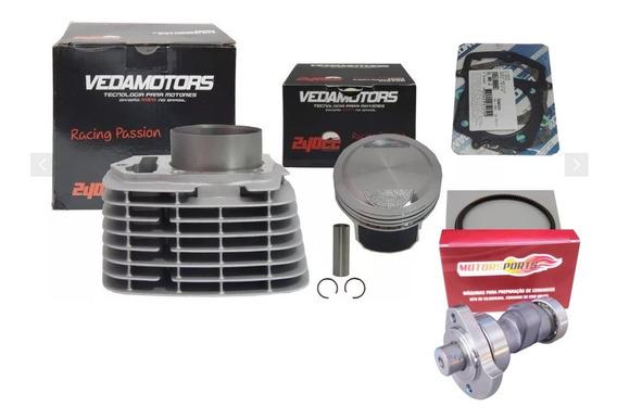 Kit Aumento Cilindrada 240cc P/ Crf 230 Com Comando Estágio 3 - Motorsportscomandos