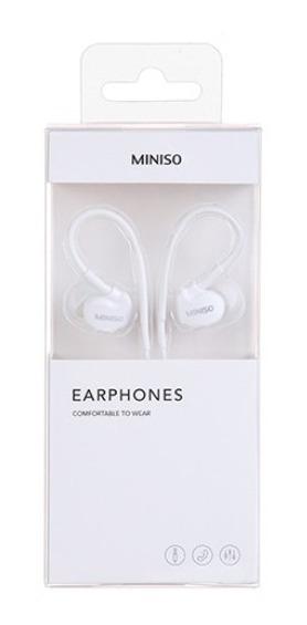 Fone De Ouvido Miniso - Cor Branca