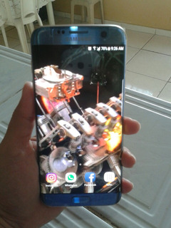Celular Samsung Galaxy S7 Edge Azul