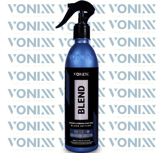 Cera Líquida Blend Spray Black Edition 500ml Vonixx