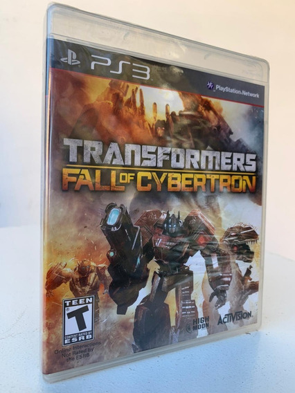 Transformers Fall Of Cybertron- Ps3-novo-lacrado
