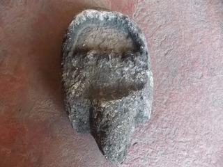 Rara Y Original Escultura De Piedra Muy Antigua.