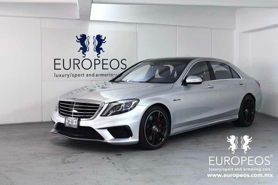 Mercedes-benz Clase S 2015 5.5l Coupe 63 Amg 4matic Mt