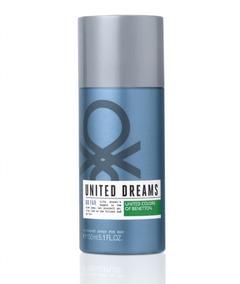 Desodorante Masculino United Dreams Go Far 150ml