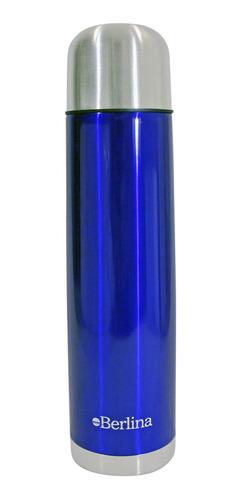 Termo Berlina 1 Lt Azul - Impre$ionante