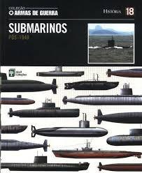 Coleção Armas De Guerra- Submarinos  Pós Desconhecido