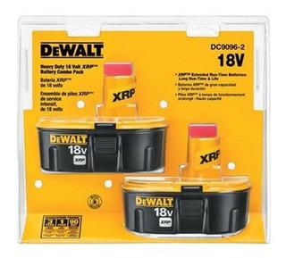 Dewalt 18v Battery, Xrp, Combo Pack (dc9096-2)