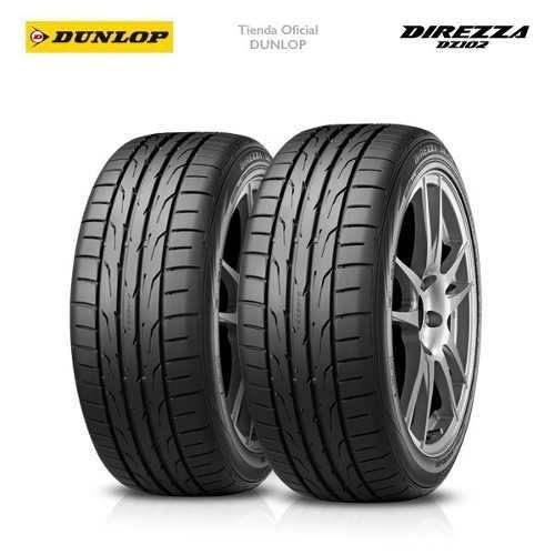 Kit X2 Cubiertas 235/45r17 (94w) Dunlop Direzza Dz102
