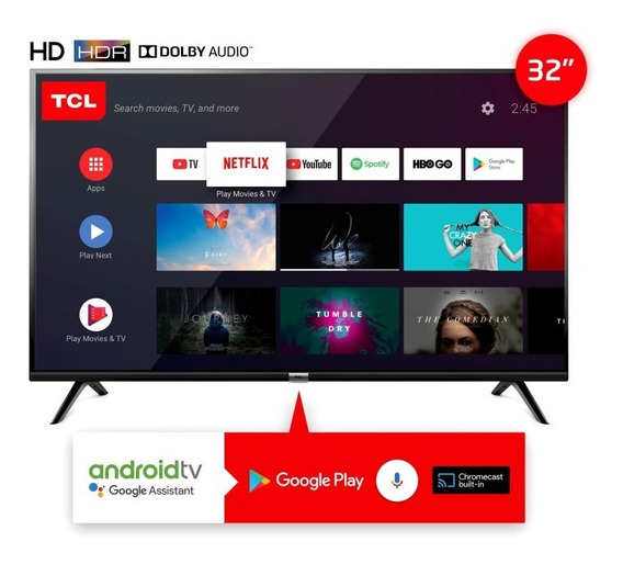 Tv Led 32p L32s6500 Hd Smart Android Tcl