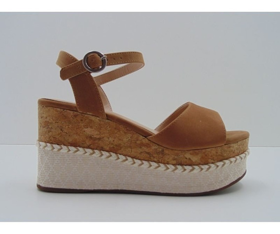 Sandália Plataforma Via Uno Delicada Luxo 275012s