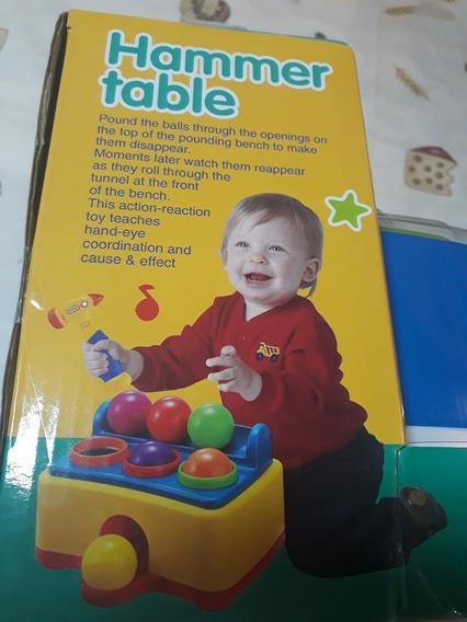 Brinquedo Pedagógico Tobogan Bolinha Som E Luz
