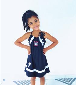 Vestido Do Corinthians Infantil