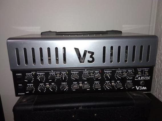 Amplificador Valvulado Carvin V3m Com Foot Excelente!!!!!!!