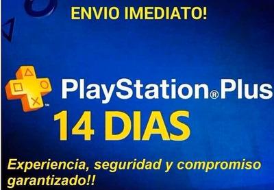Playstation Plus X14 Días
