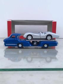 Norev Mercedes Benz Reentransporter + W196 R Stomlinie 1/64