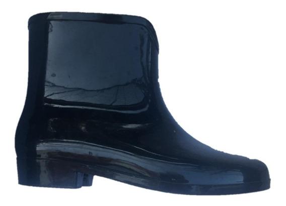 Botas De Lluvia De Dama Color Negro