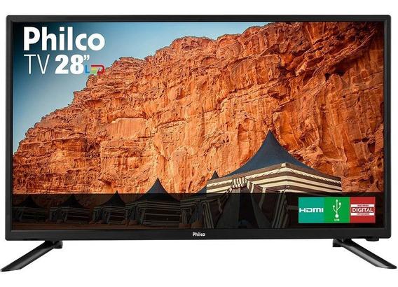 Tv Led 28 Philco Ph28n91d Hd 1 Hdmi Conversor Digital - Sem Juros