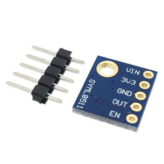 Sensor De Luz Ultravioleta Uv Ml8511