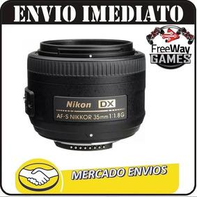Lente Nikon 35mm F/1.8g Af-s Dx Autofoco + Nfe