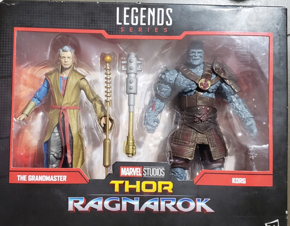 Marvel Legends Thor Ragnarok Grand Master & Krog