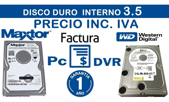 Disco Duro Pc 320gb Interno Western Digital 3.5 Inc Iva