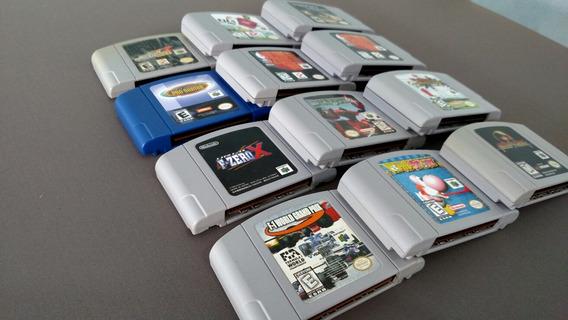 Lote De Jogos De Nintendo 64 (leia A Descrição)
