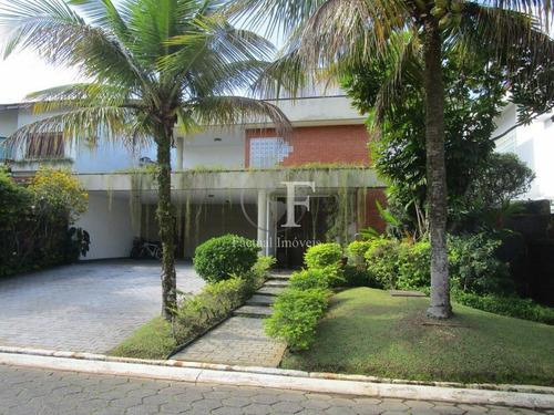 Casa Residencial À Venda, Acapulco Iii, Guarujá. - Ca2520