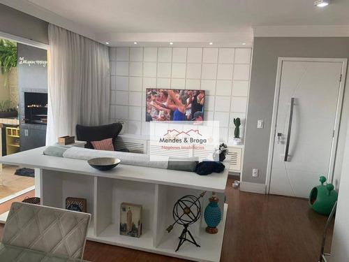 Imagem 1 de 15 de Apartamento À Venda, 91 M² Por R$ 670.000,00 - Centro - Guarulhos/sp - Ap2370