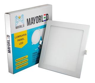 Panel Led Embutir Cuadrado 18w Luz Fria Spot 220v Mayorled