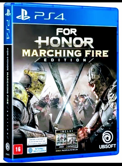 For Honor Marching Fire Edition Ps4 Mídia Física Lacrado