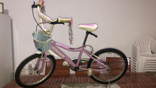 Bicicleta De Paseo Vairo Rodado 20 Nena