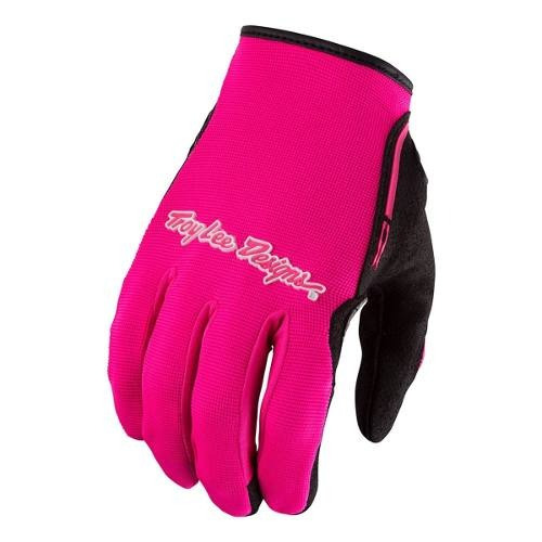 Guantes Motocross Troy Lee Xc Rosa